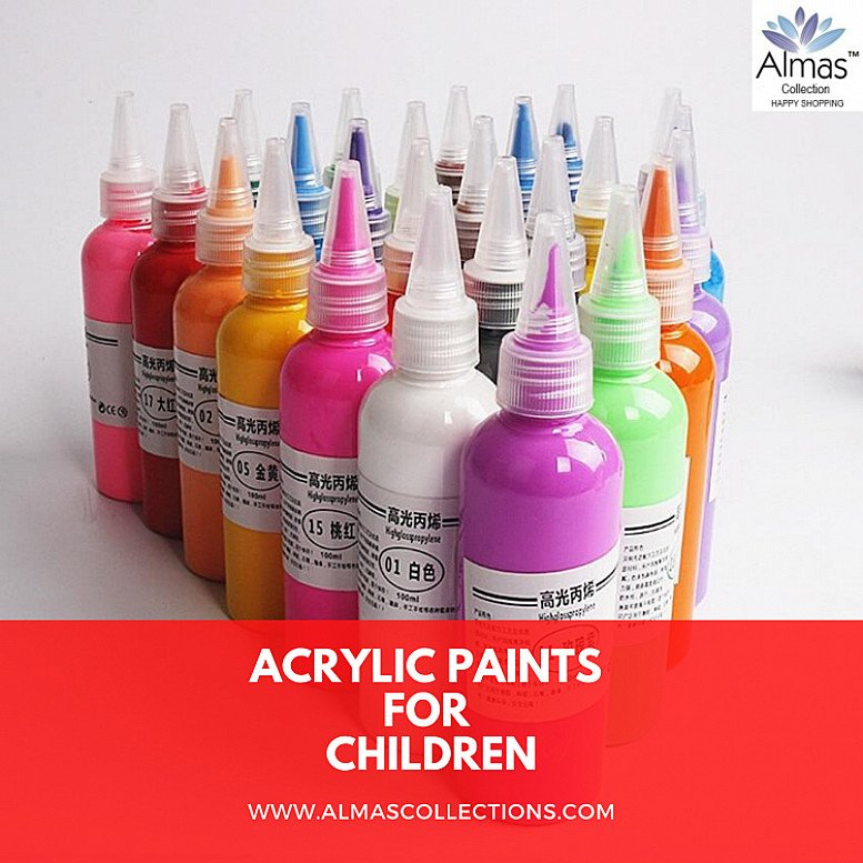 New Professional Acrylic Paints Art Drawing Supplies