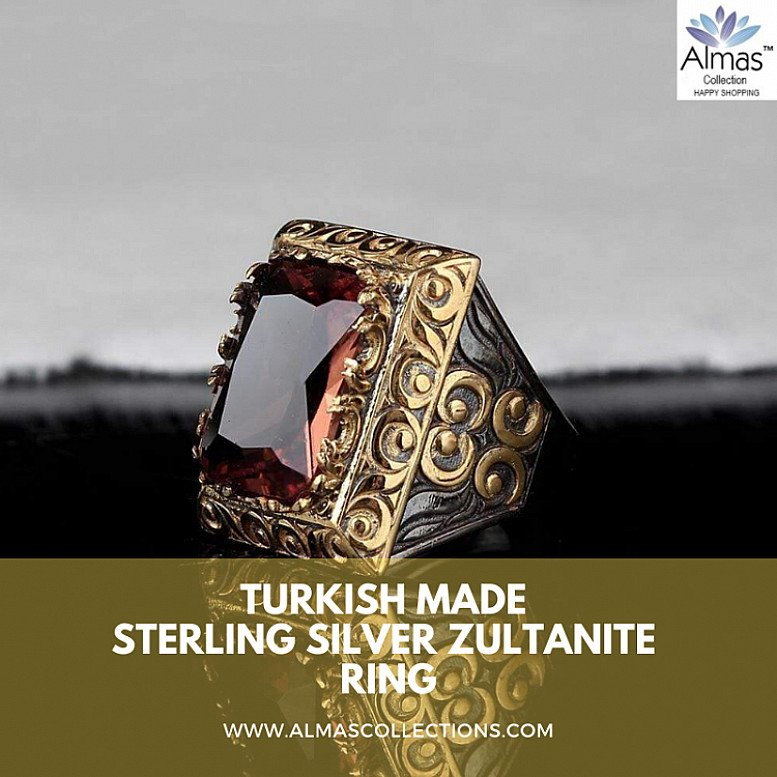 Turkish Sterling Silver Zultanite Ring