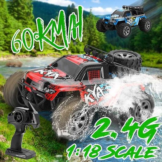 2.4G RC 4WD High Speed Drive Drift Racing USB Charging Remote Control toy