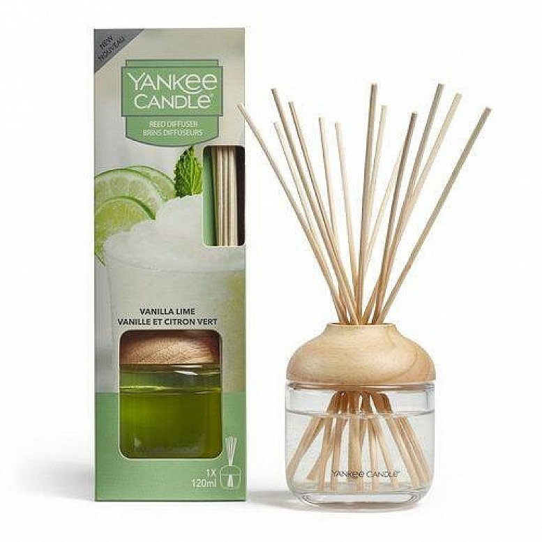 SALE - YANKEE CANDLE VANILLA LIME  REED DIFFUSER 120ML!