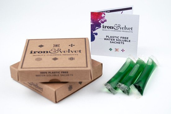 GO GREEN: PLASTIC-FREE SOLUBLE BATHROOM CLEANER (5 PACK) - £10.99!