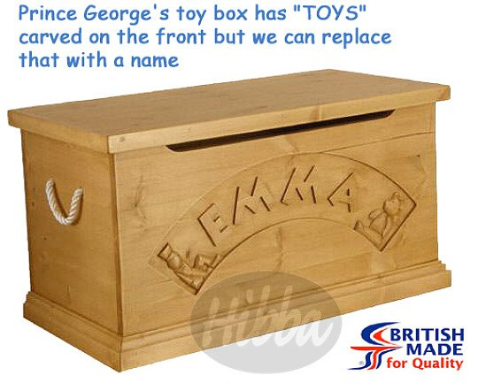 Prince George Toy Box