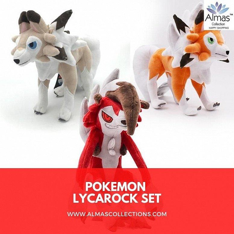 Pokemon Lycanroc Plush Toys