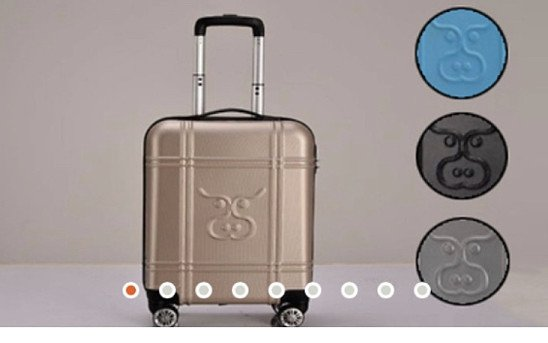 SAVE 75% + get Free Shipping on this PONWAR CABIN CASE using Code: SNIZL75 Was: £149.99 Now: £37.50