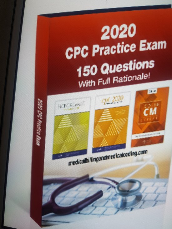 CPC Practice Exam-medical  Coding Study Guide
