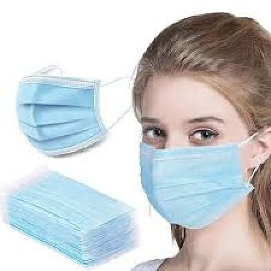 SAVE 70% + get Free Shipping on this 3 PLY DISPOSABLE MASK using Code: SNIZL70 WAS: £19.99 Now:£6.00