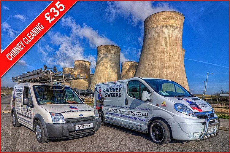 Our chimney sweeping services includes sweeping and cleaning open fires, log burners and more!