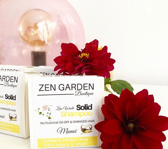 Zen Garden solid shampoo Naked - £8.00!