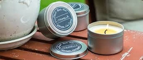 NATURAL SOY CITRONELLA CANDLE SET £7.50 (70% Discount) + free postage. Use Code: SNIZL70