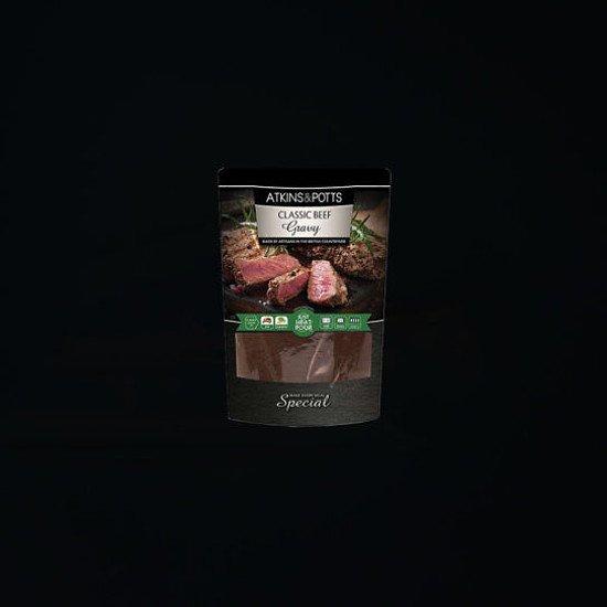 Atkins & Potts Classic Beef Gravy - £3.99!