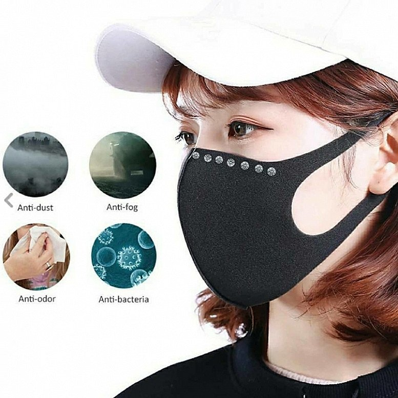 Air Purifying Comfortable Washable Face Mask
