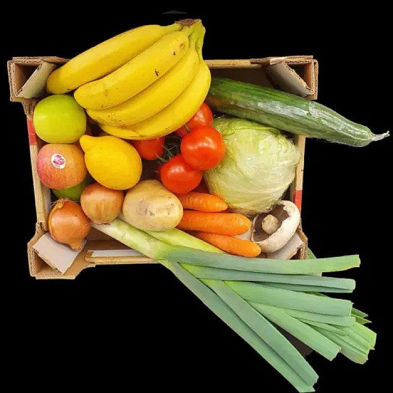 Fruit & Vegetable Box for 2 - £18.00!