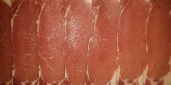 Due to high demand we have recently added dry cured bacon to our handmade, home produced products!
