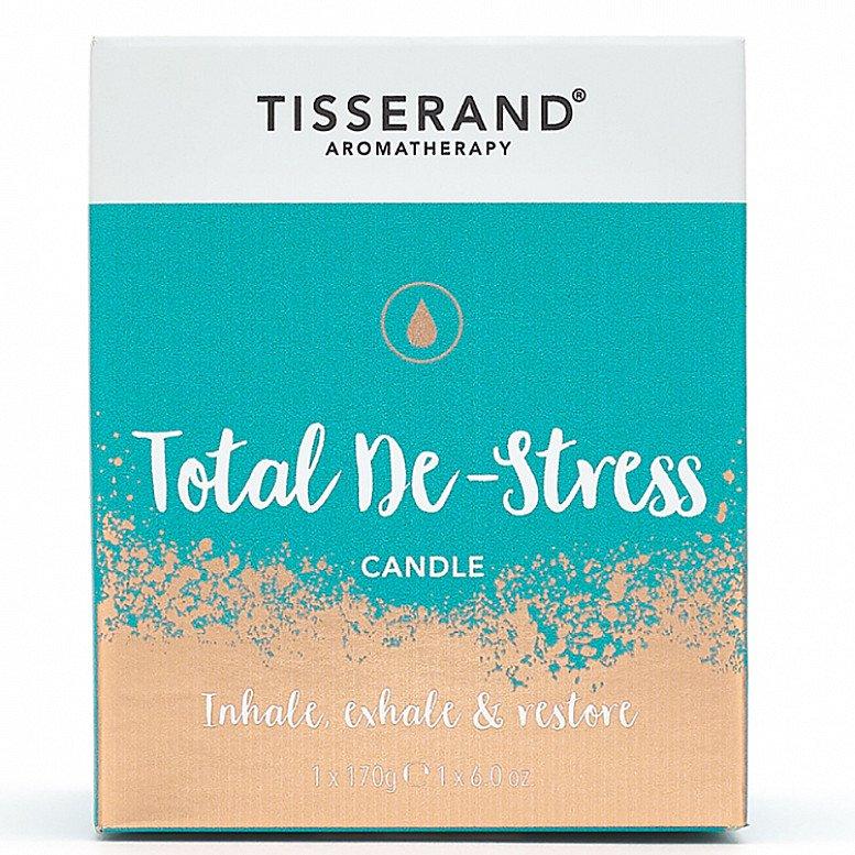 TISSERAND TOTAL DE-STRESS CANDLE - 170G: £19.99!
