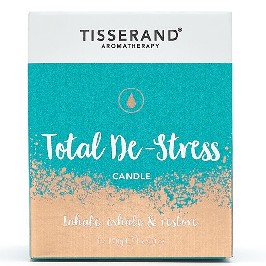 TISSERAND TOTAL DE-STRESS CANDLE - 170G: £19.99!