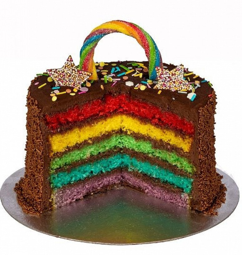 The Chocolate Rainbow Layer Cake - £35.00       Nationwide delivery available!