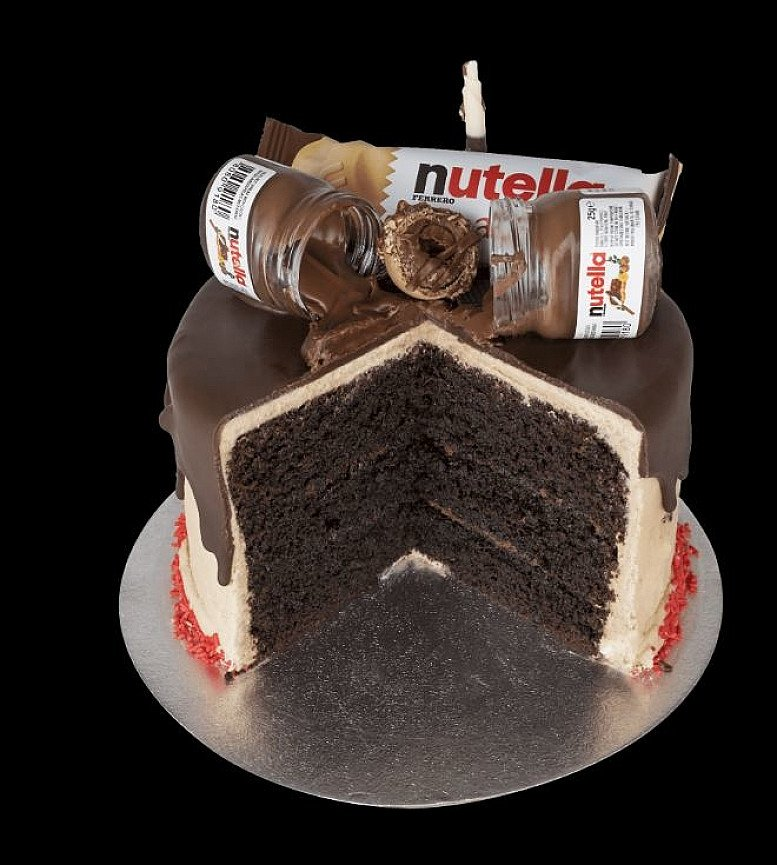 The Hazelnut Lovin Cake - £40.00  Nationwide delivery in 24hrs!
