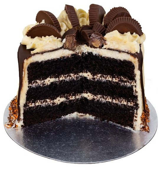 The Peanut Butter Cake - £35.00 Nationwide delivery in 24 hrs!