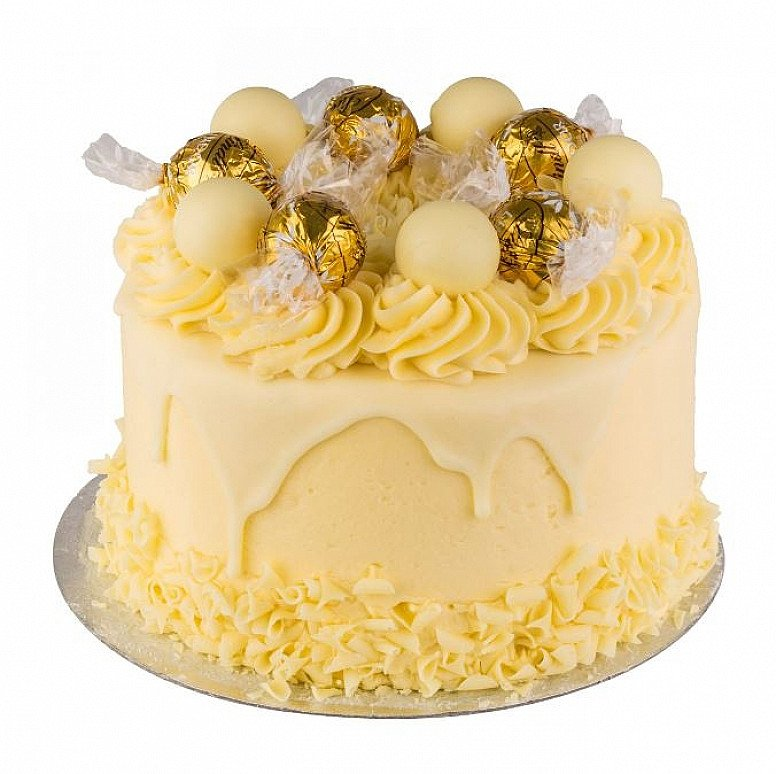White Chocolate Lindt Cake - £40.00 Nationwide delivery 24 hrs!