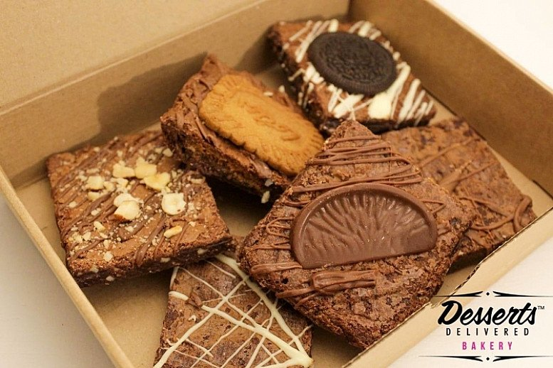 Variety Brownie Box - £15.00 nationwide delivery in 24hrs!