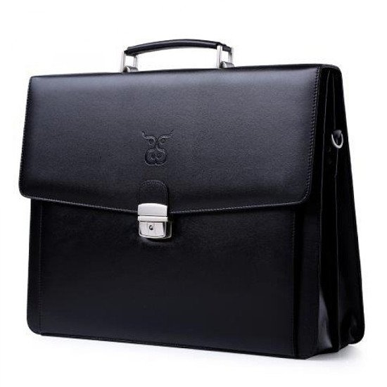 MADURA BLACK LABEL LEATHER BRIEFCASE £37.50 (75% discount) + free postage. Use Code: SNIZL75