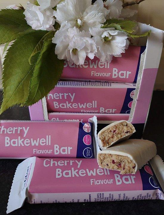 New Tasty Cherry Bakewell Bar