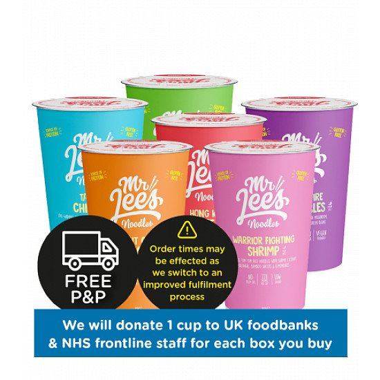 MIXED BOX 6 X PACK - NOW £12.00