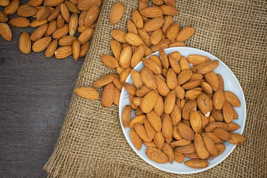Enjoy a balanced diet - Our Almonds are just £5.30 per 600g!