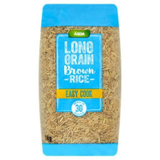 Pathe the way to a nutritious diet - ASDA Easy Cook Long Grain Brown Rice, just 89p!