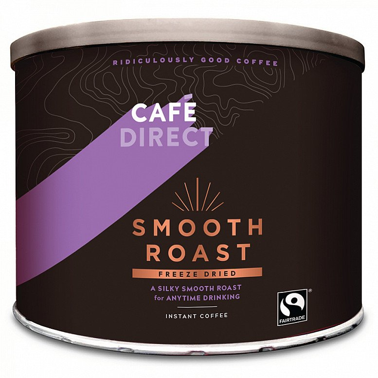 SALE - CAFÉDIRECT FAIRTRADE CLASSIC BLEND INSTANT COFFEE - 500G, now just £18.50!