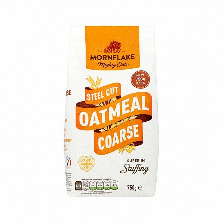 Mornflake Steel Cut Oatmeal Coarse 750g: £1.79!