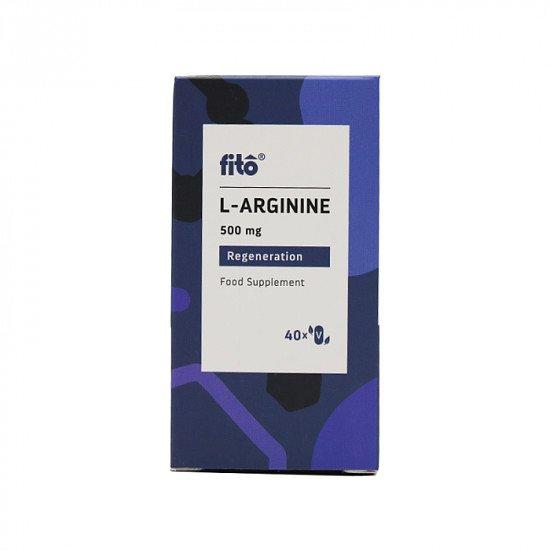 Fito L-Arginine 500mg 40 Caps - £4.99!