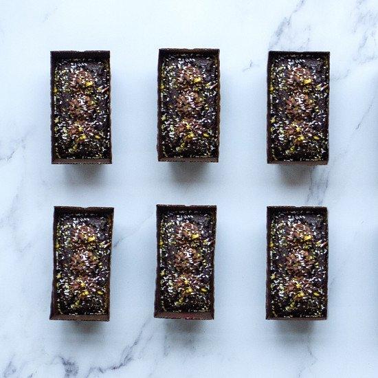 Luxury Coconut and Pistachio Chocolate Cakes - £15.25!