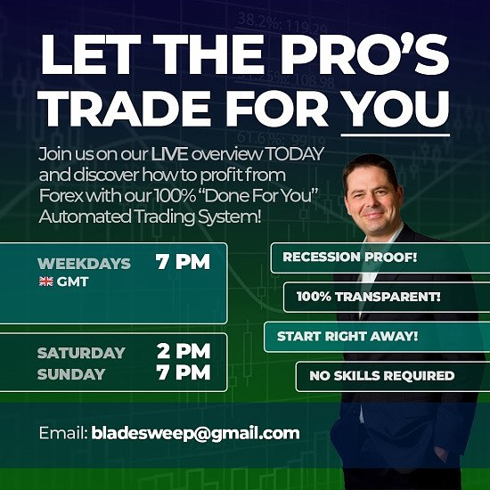 LET THE PROS TRADE FOR YOU!
