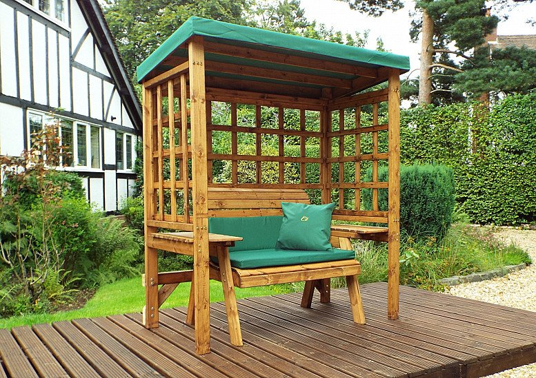 Wentworth Garden Arbour – Green 2 Seater HB144G