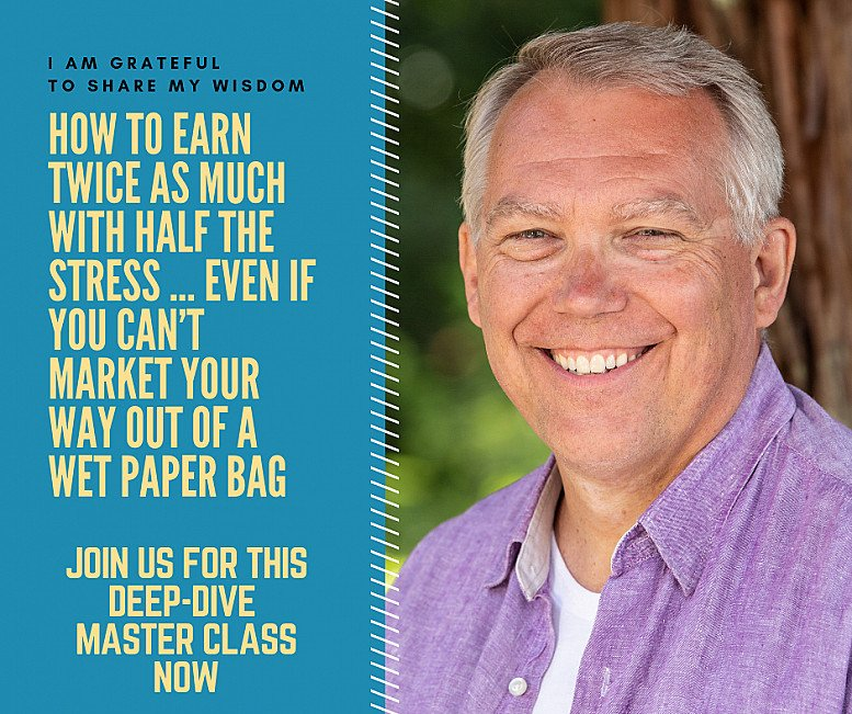 Earn Twice As Much Master Class