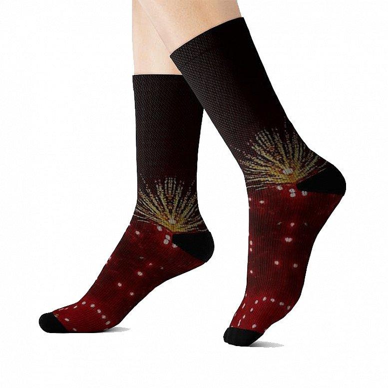 Fireworks Black Range Sublimation Socks