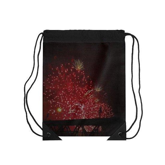 Fireworks Black Range Drawstring Bag