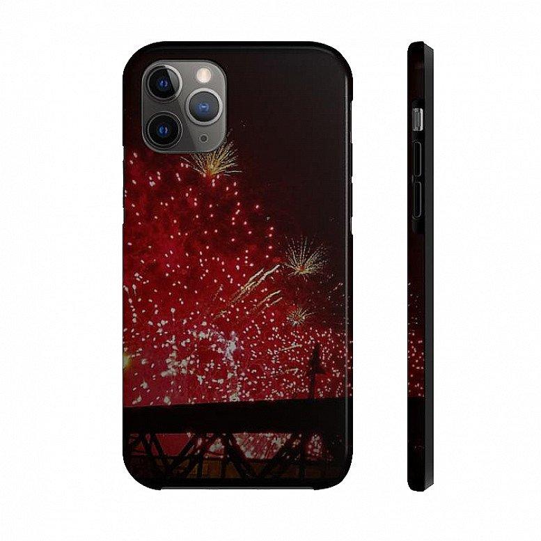 Fireworks Black Range Case Mate Tough Phone Cases