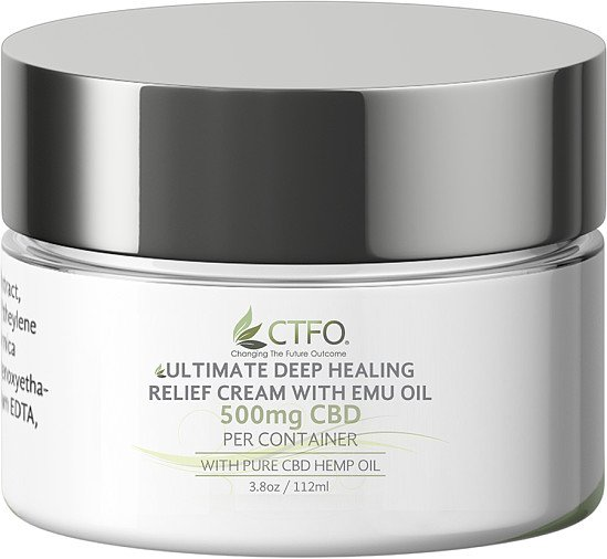 500mg *** Ultimate Deep Healing Relief Cream with Emu Oil