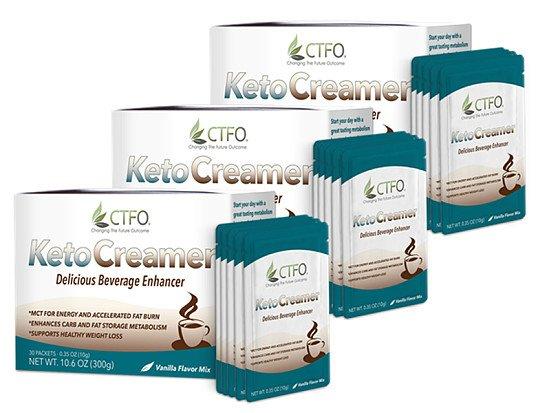 KetoCreamer - 3 Pack