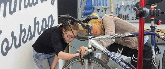 Want to build a bike and learn how to fix it?