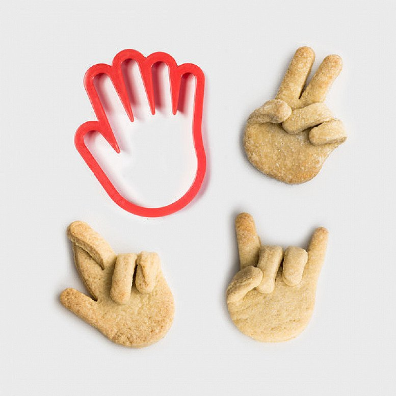 QUIRKY KITCHEN ADDITIONS - Hand Cookie Cutter: £5.00!