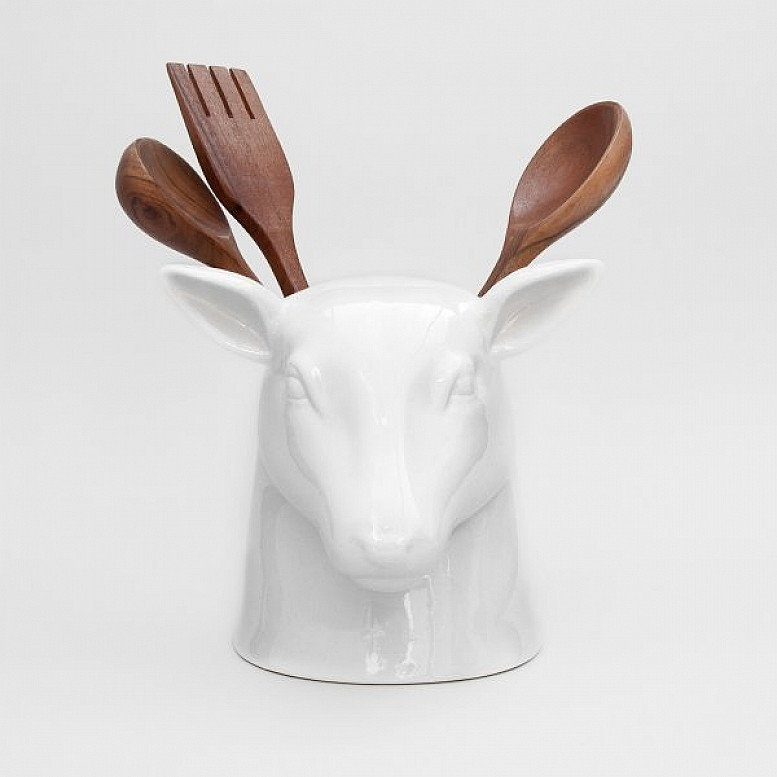 QUIRKY KITCHEN ADDITIONS - Stag Kitchen Tidy: £35.00!