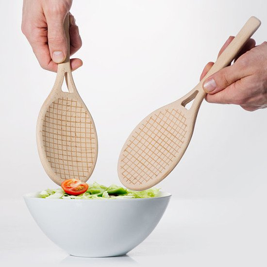 QUIRKY KITCHEN ADDITIONS - Salad Servers: £12.00!