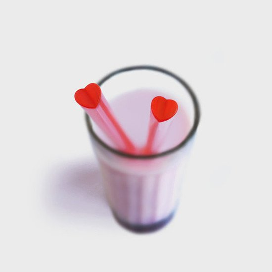 QUIRKY HOME EDITIONS - Heart Straws: £2.50!