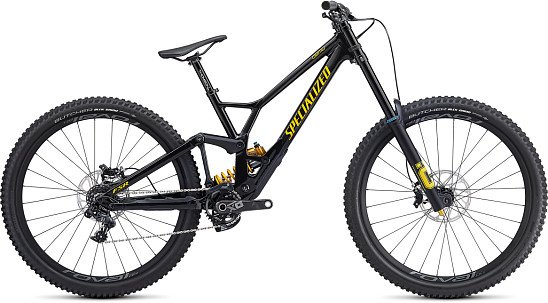 SAVE- Specialized Demo Race 29 Downhill Bike Black/ Burnt Yellow