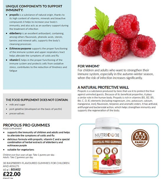 Nutricode supplements