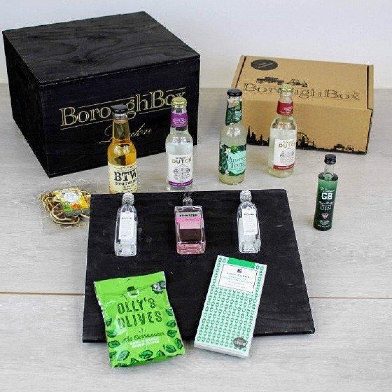 Craft Gin & Tonic Gift Box includes Pinkster Gin, Jensens Gin, Double Dutch Tonics: £34.99!