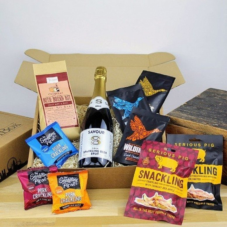 Beer, Beer Bread & Crackling Gift Box - £34.99!